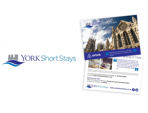 New logo and web site for York Short Stays