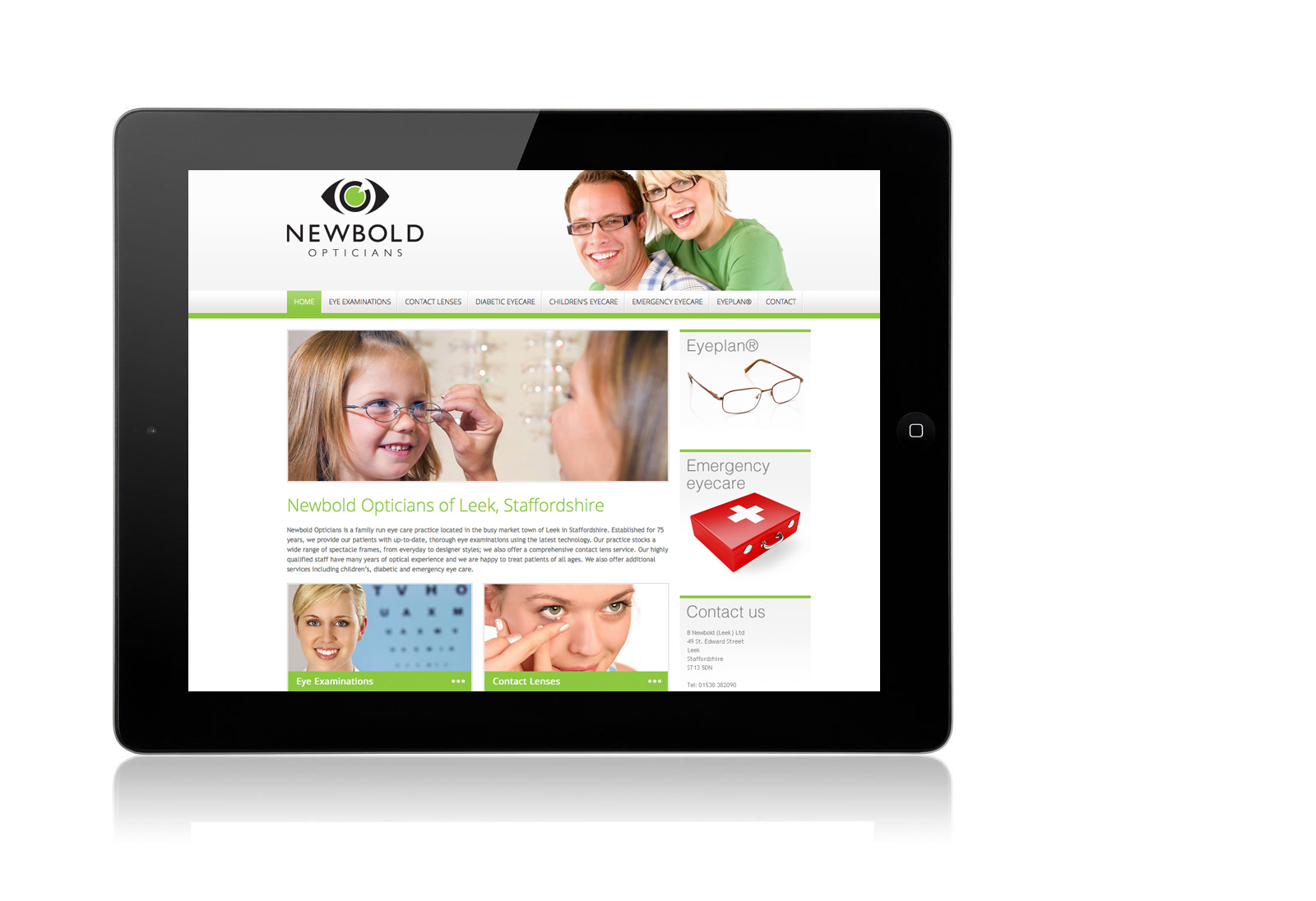 Newbold Opticians Leek