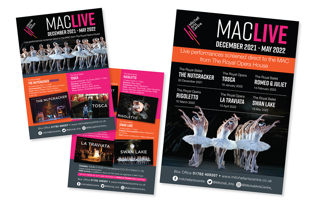 Mitchell Theatre Live Flyer